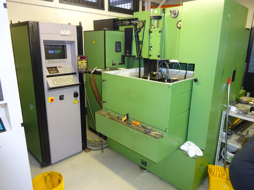 Agie-Cut Wire EDM machine