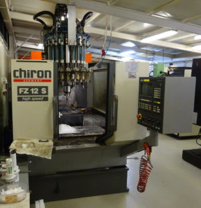 Chiron FZ 12 S machining center