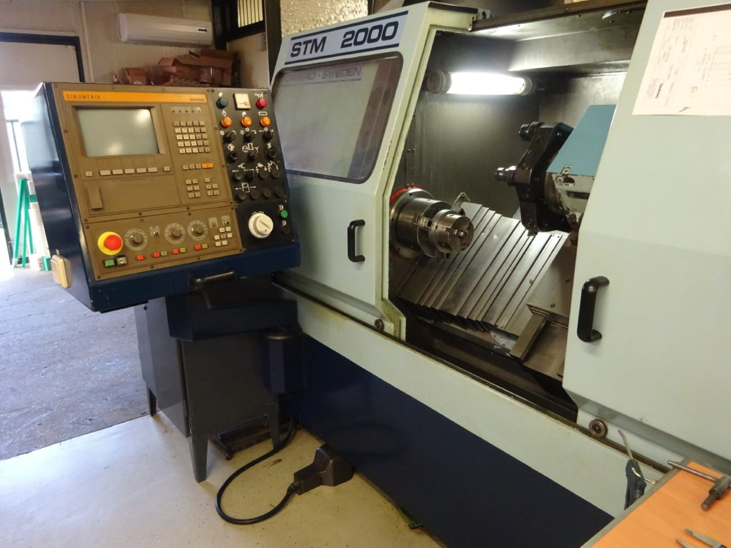 Storebro STM 2000 CNC turning machine